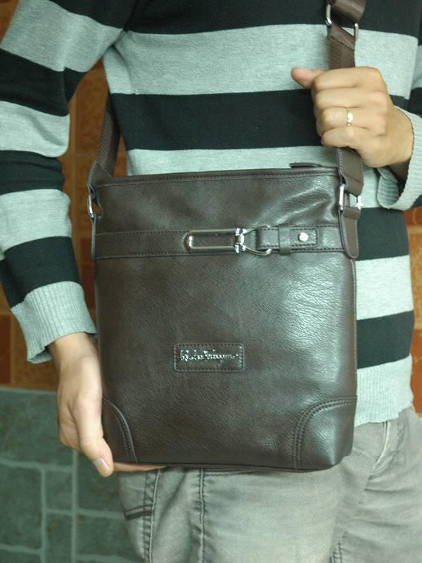 Túi xách da đựng iPad Salvatore Ferragamo - Kiểu 7 1