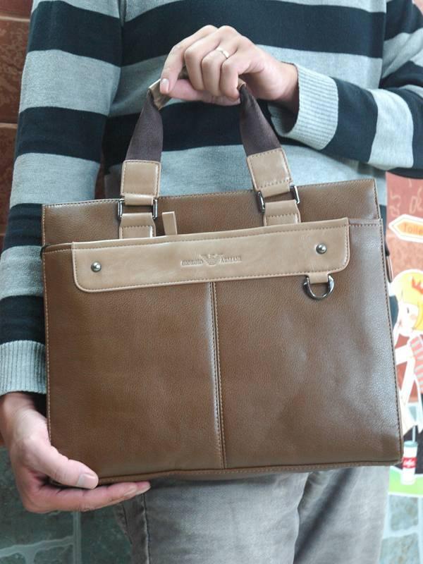 Túi xách da đựng iPad Giorgio Armani - Kiểu 2 1