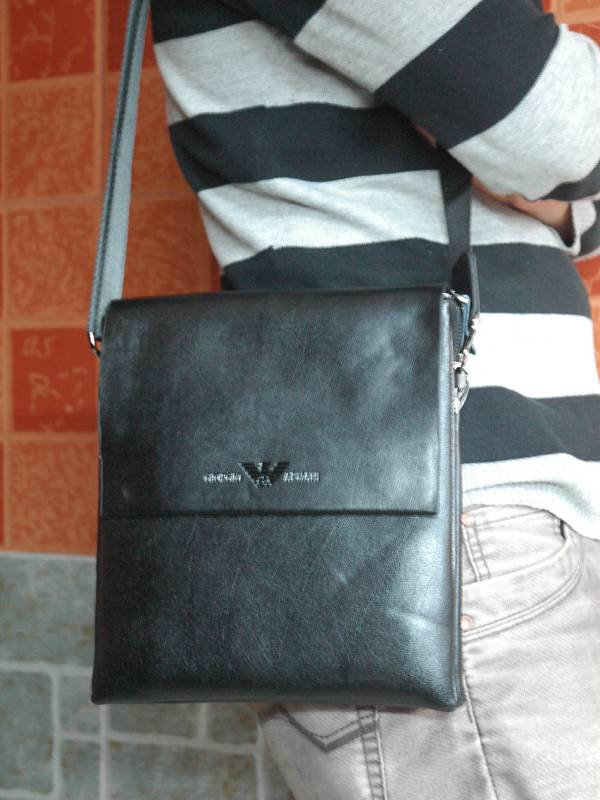 Túi xách da đựng iPad Giorgio Armani - Kiểu 6 1
