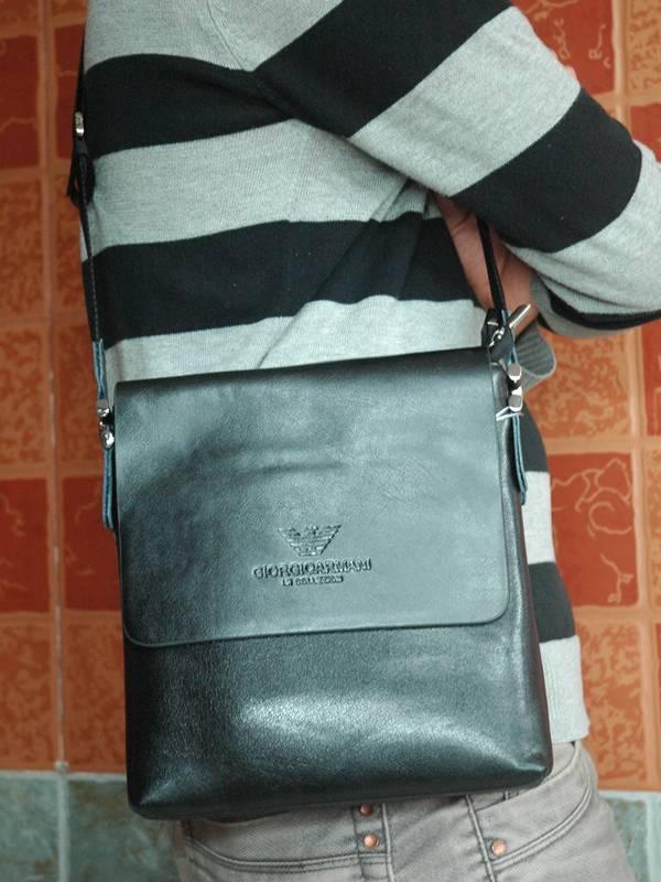 Túi xách da đựng iPad Giorgio Armani - Kiểu 7 1