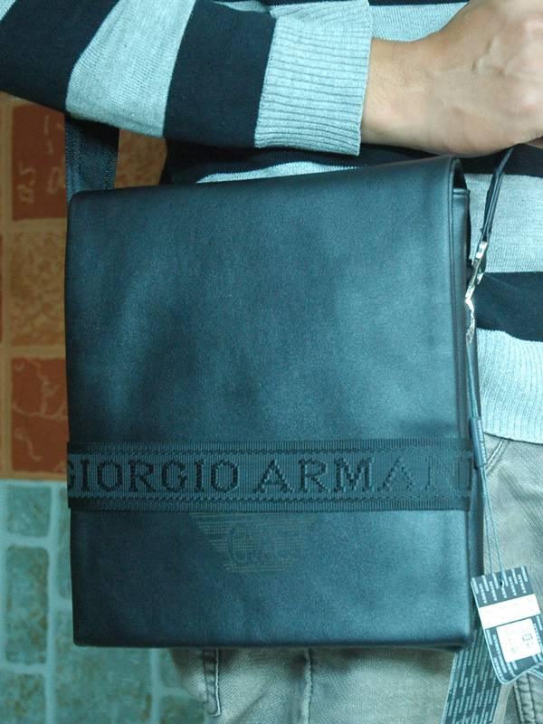 Túi xách da đựng iPad Giorgio Armani - Kiểu 8 1