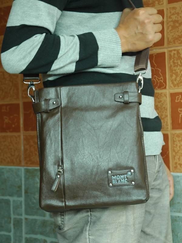 Túi xách da đựng iPad Mont Blanc - Kiểu 9 1