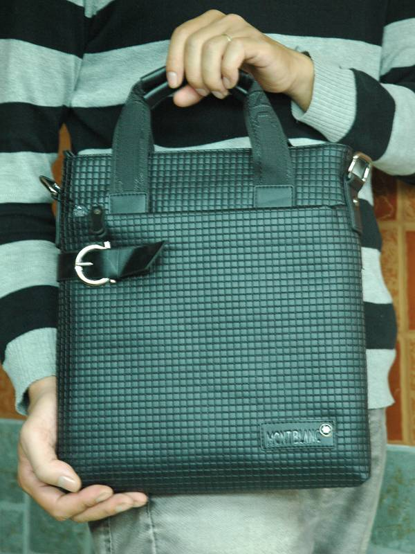 Túi xách da đựng iPad Mont Blanc - Kiểu 10 1