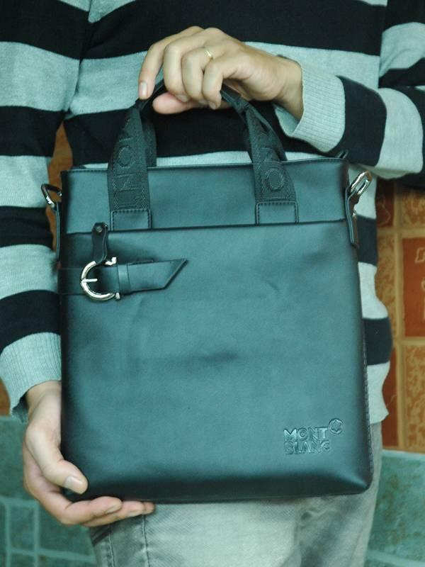 Túi xách da đựng iPad Mont Blanc - Kiểu 10 2