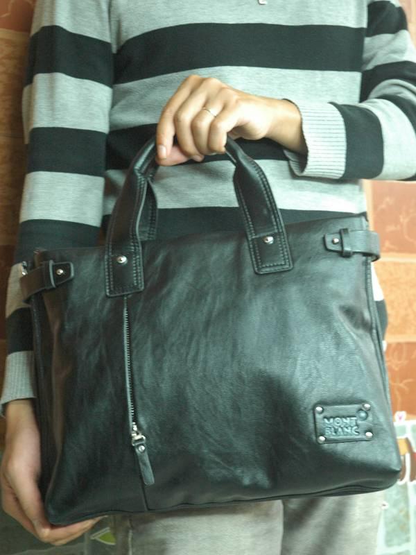 Túi xách da đựng iPad Mont Blanc - Kiểu 11 1