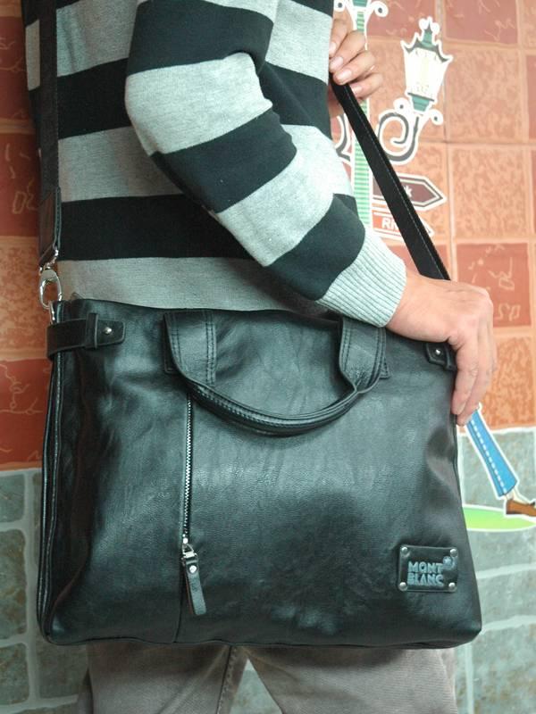 Túi xách da đựng iPad Mont Blanc - Kiểu 11 3