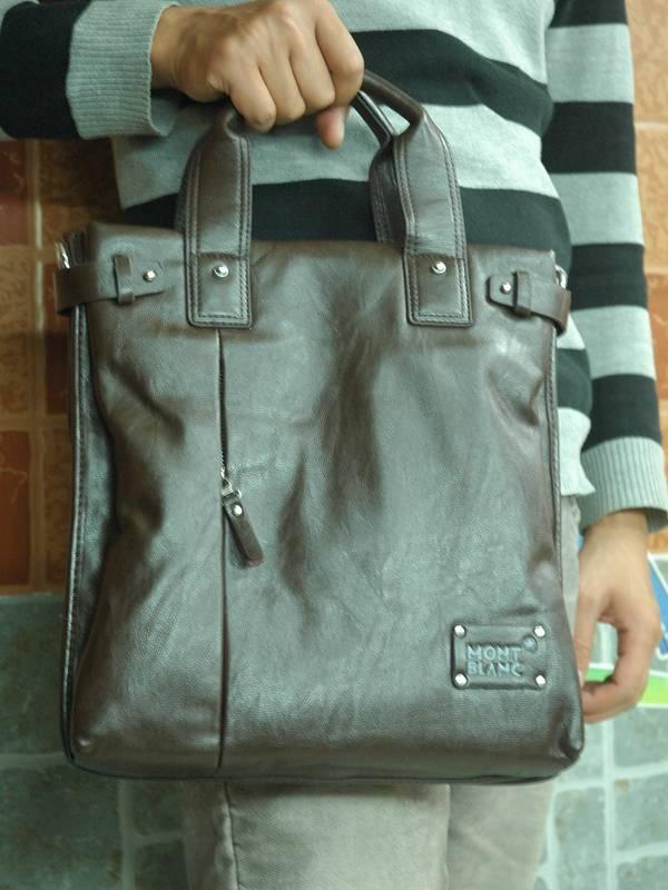 Túi xách da đựng iPad Mont Blanc - Kiểu 12 3