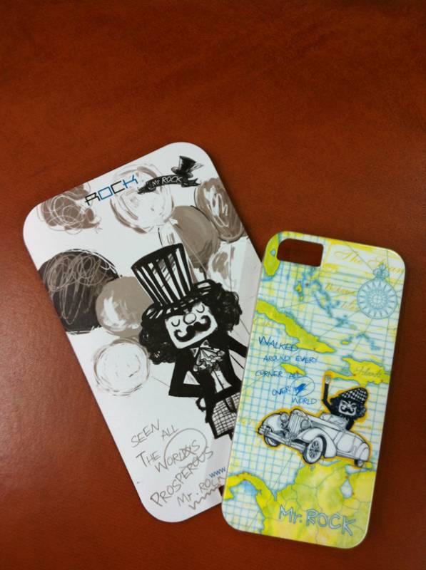 Ốp lưng iPhone 5 Rock Mr Rock - hàng chính hãng 2