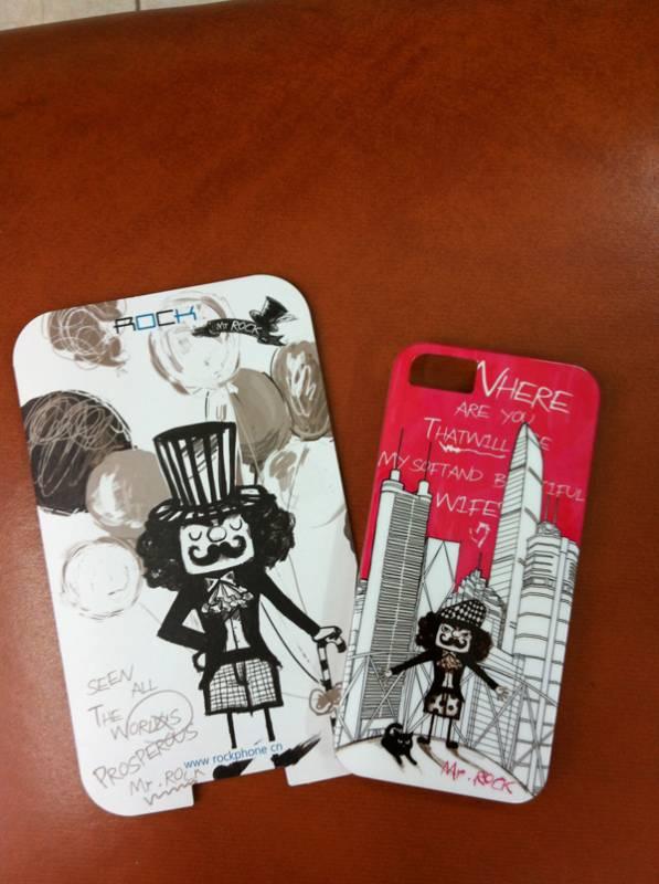 Ốp lưng iPhone 5 Rock Mr Rock - hàng chính hãng 3
