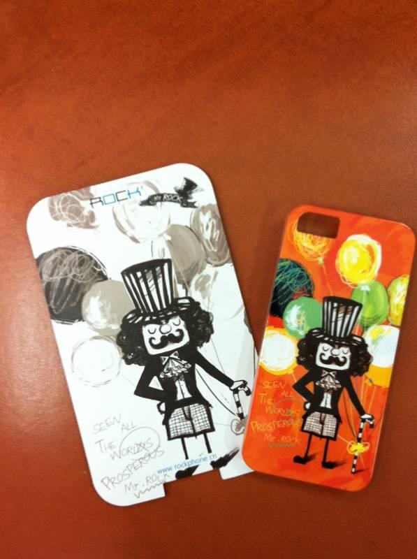 Ốp lưng iPhone 5 Rock Mr Rock - hàng chính hãng 4