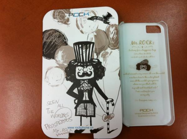 Ốp lưng iPhone 5 Rock Mr Rock - hàng chính hãng 5