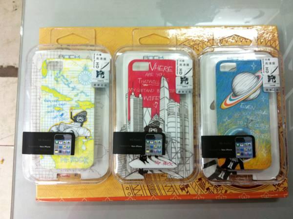 Ốp lưng iPhone 5 Rock Mr Rock - hàng chính hãng 6
