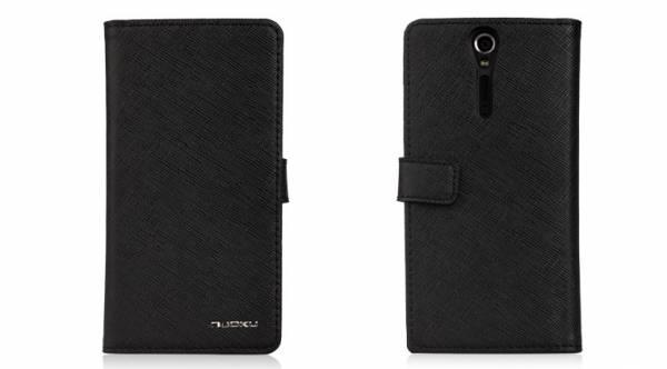 Bao da Sony Xperia S Lt26i mở ngang Nuoku Book 1
