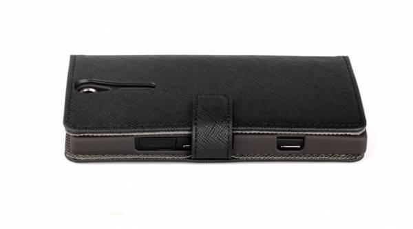 Bao da Sony Xperia S Lt26i mở ngang Nuoku Book 3