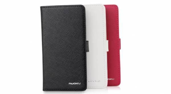 Bao da Sony Xperia S Lt26i mở ngang Nuoku Book 5