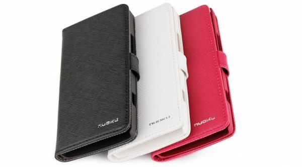 Bao da Sony Xperia S Lt26i mở ngang Nuoku Book 6