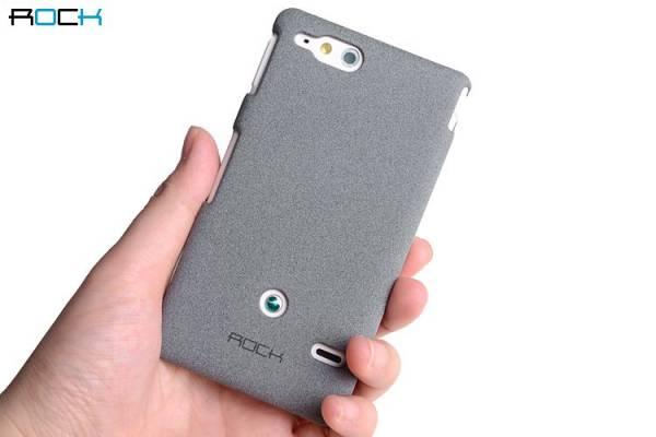 Ốp lưng Sony Xperia Go ST27i Rock QuickSand 11