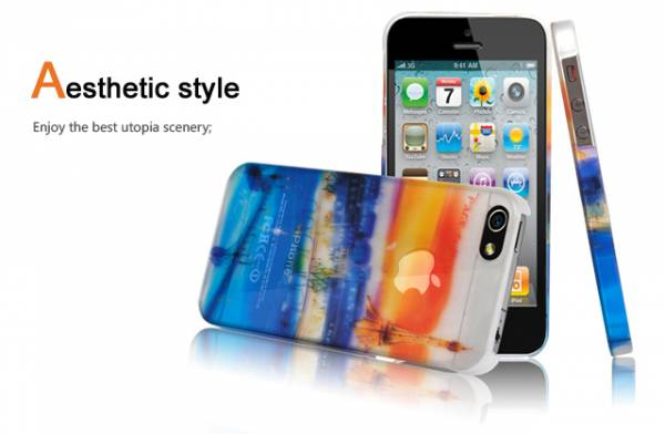 Ốp lưng iPhone 5 Baseus Romance Case 2