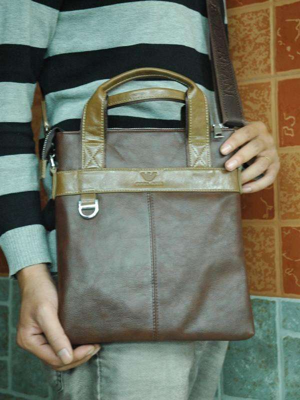 Túi xách da đựng iPad Giorgio Armani - Kiểu 4 3