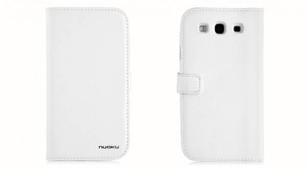Bao da Samsung Galaxy S3 i9300 mở ngang Nuoku book 3