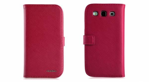 Bao da Samsung Galaxy S3 i9300 mở ngang Nuoku book 9