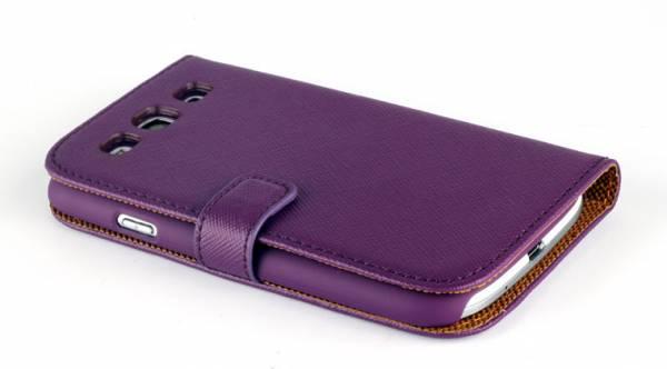 Bao da Samsung Galaxy S3 i9300 mở ngang Nuoku book 12