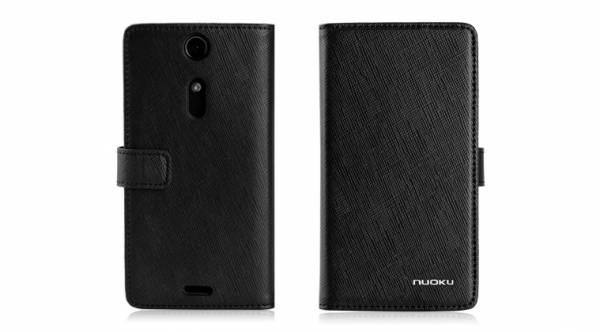 Bao da Sony Xperia TX Lt29i mở ngang Nuoku book 1
