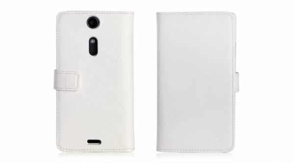 Bao da Sony Xperia TX Lt29i mở ngang Nuoku book 2