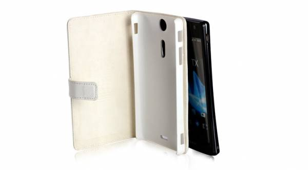 Bao da Sony Xperia TX Lt29i mở ngang Nuoku book 4