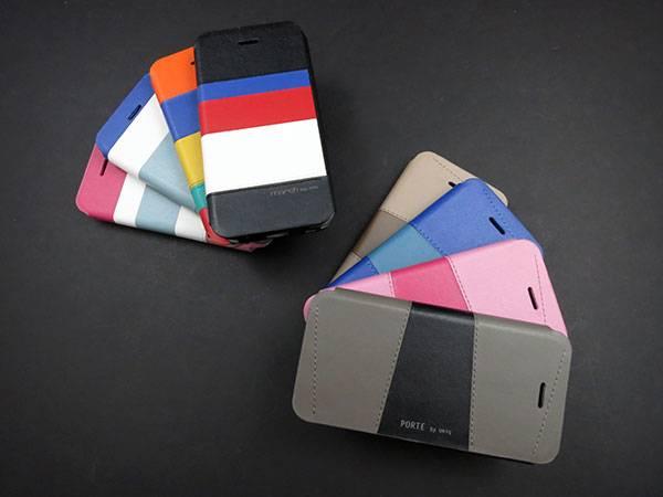 Bao da iPhone 5 mở ngang Uniq Porte chính hãng 1