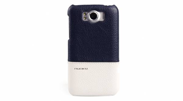 Ốp lưng HTC Sensation XL Nuoku Royal Luxury Leather Cover 1