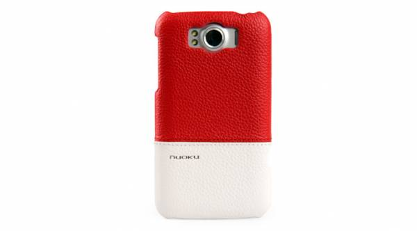 Ốp lưng HTC Sensation XL Nuoku Royal Luxury Leather Cover 3