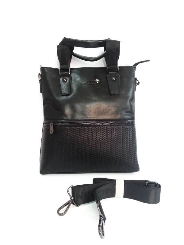 Túi xách da đựng iPad Mont Blanc kiểu 16 1