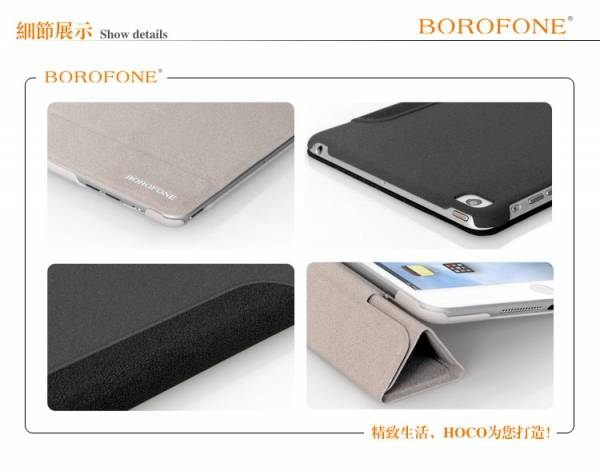 Bao da iPad mini Borofone NM Bracket 11