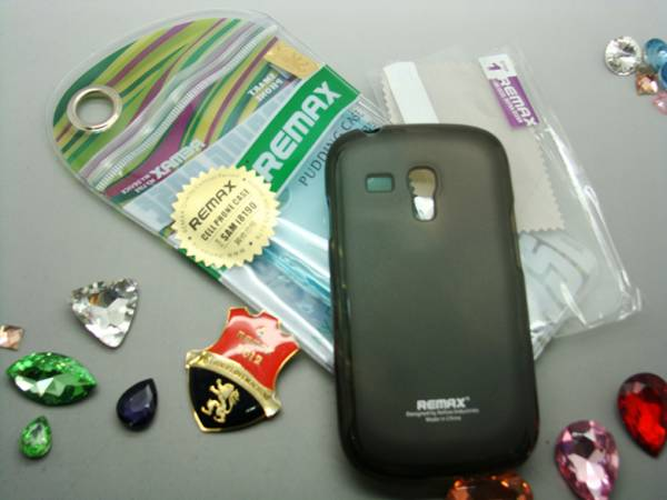 Ốp lưng Samsung Galaxy S3 mini silicon Remax 2