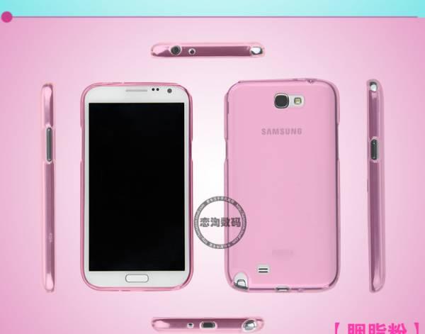 Ốp lưng Samsung Galaxy Note 2 N7100 silicon Remax 4