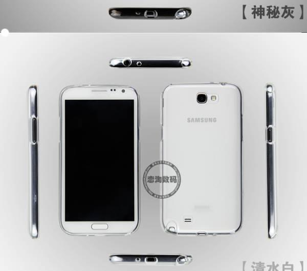 Ốp lưng Samsung Galaxy Note 2 N7100 silicon Remax 10