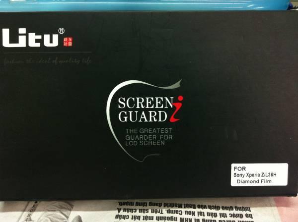 Miếng dán kim cương Sony Xperia Z Litu Diamond 1