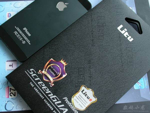 Miếng dán kim cương iPhone 5 Litu 1