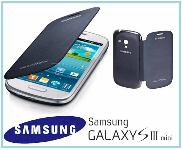 Bao da Samsung Galaxy S3 Mini i8190 Flip Cover chính hãng 1