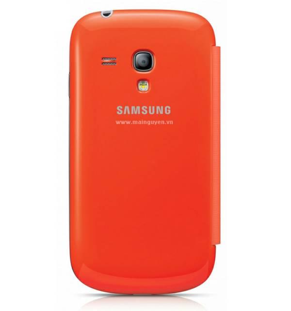 Bao da Samsung Galaxy S3 Mini i8190 Flip Cover chính hãng 5