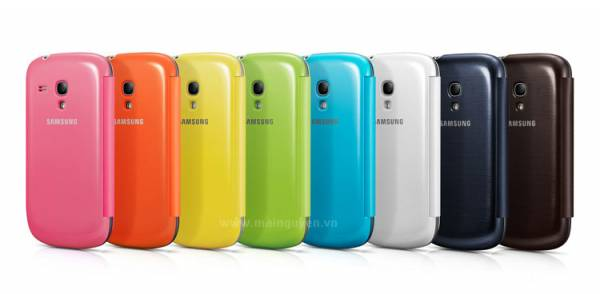 Bao da Samsung Galaxy S3 Mini i8190 Flip Cover chính hãng 6