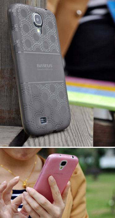 Ốp lưng silicon Samsung Galaxy S4 Baseus Sunflower Case 1