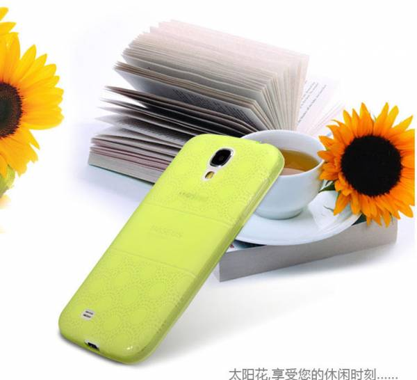 Ốp lưng silicon Samsung Galaxy S4 Baseus Sunflower Case 4
