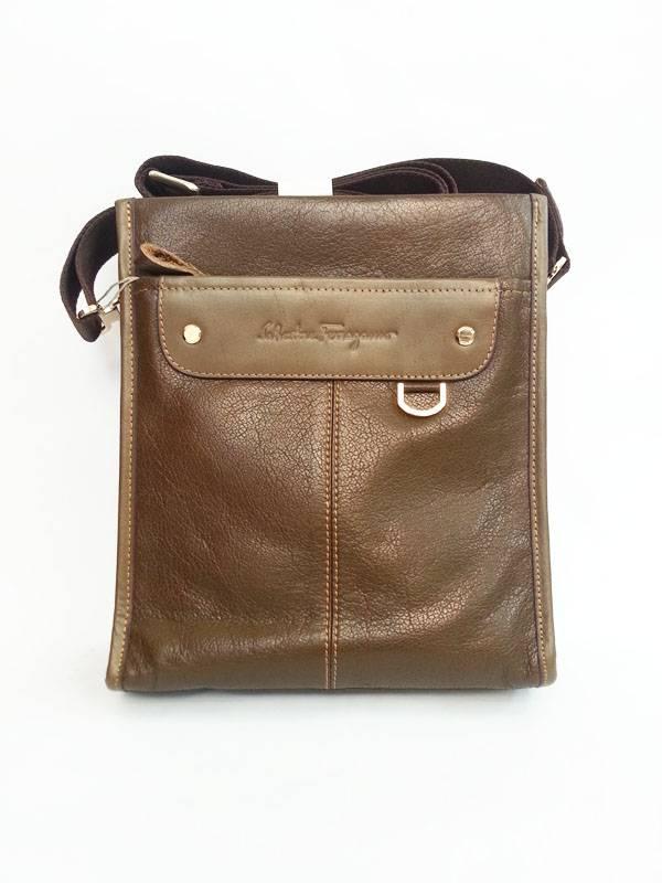 Túi đựng iPad da thật đeo chéo Salvatore Ferragamo thời trang kiểu 10 1