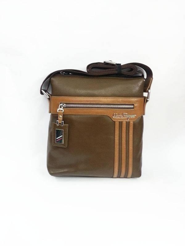 Túi đựng iPad da thật đeo chéo Salvatore Ferragamo thời trang kiểu 9 1
