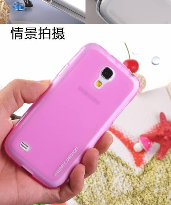 Ốp lưng Samsung Galaxy S4 Mini i9190 Silicon Remax 3