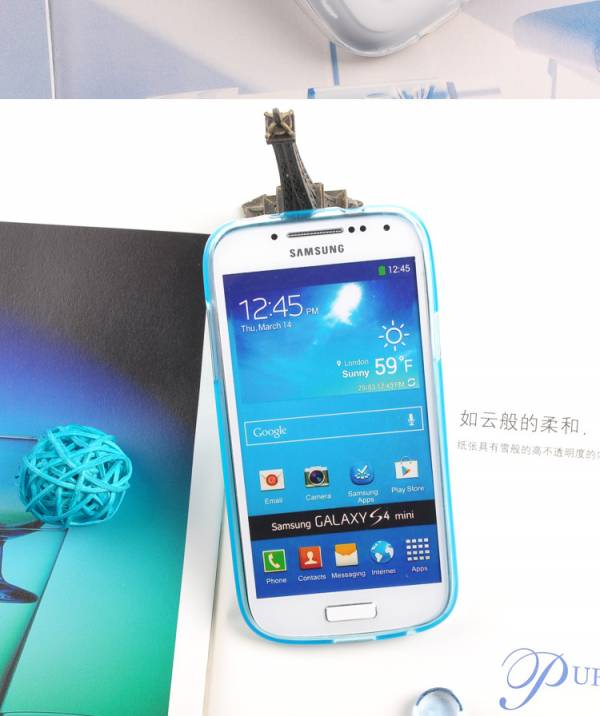 Ốp lưng Samsung Galaxy S4 Mini i9190 Silicon Remax 5