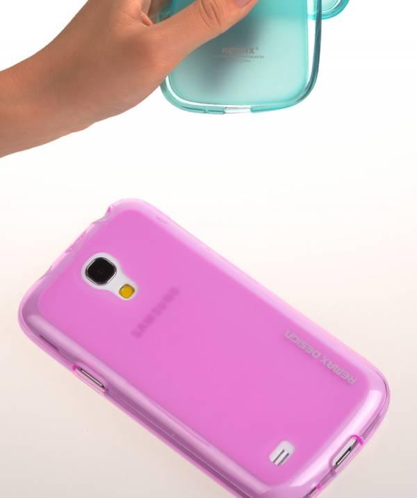 Ốp lưng Samsung Galaxy S4 Mini i9190 Silicon Remax 6