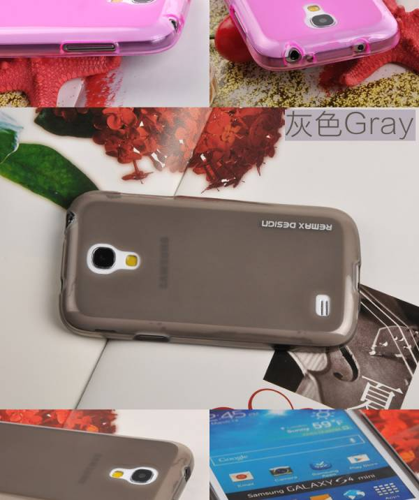 Ốp lưng Samsung Galaxy S4 Mini i9190 Silicon Remax 8